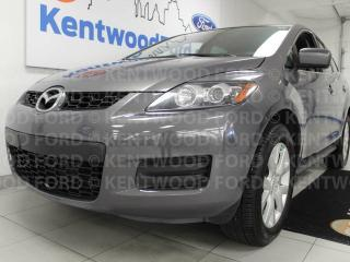 Used 2007 Mazda CX-7 CX-7 in astonishing grey and waiting to make your day for sale in Edmonton, AB