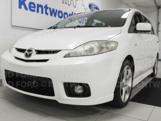Used 2006 Mazda MAZDA5 Mazda5 with a sunroof and cruise. Cruise down the streets in a beaut like this for sale in Edmonton, AB