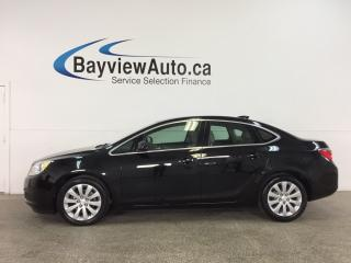 Used 2016 Buick Verano Base - REMOTE START! ALLOYS! DUAL CLIMATE! REV CAM! INTELLILINK! for sale in Belleville, ON
