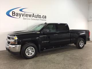 Used 2016 Chevrolet Silverado 1500 LS - CREW! CHROMES! HITCH! TOW/HAUL! WIFI! REV CAM! for sale in Belleville, ON