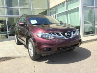 Used 2014 Nissan Murano SL/HEATED SEATS/ALL WHEEL DRIVE/BACK UP CAMERA for sale in Edmonton, AB