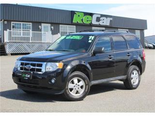 Used 2011 Ford Escape XLT Automatic XLT | V6 | 4X4 | HEATED LEATHER for sale in Fredericton, NB