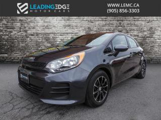 Used 2016 Kia Rio LX+ ECO New RTX Rims And New Tires! for sale in Woodbridge, ON