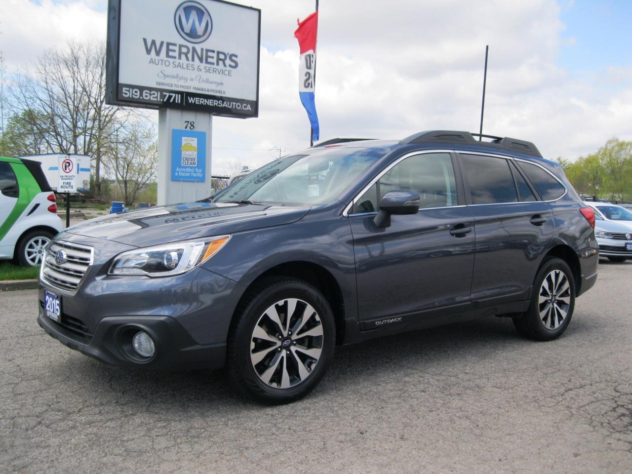 2015 Subaru Outback 2.5i w/Limited & Tech Pkg