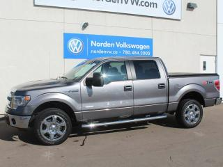 Used 2014 Ford F-150 XLT Crew Cab 4X4 for sale in Edmonton, AB