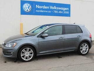 Used 2015 Volkswagen Golf Highline Auto for sale in Edmonton, AB