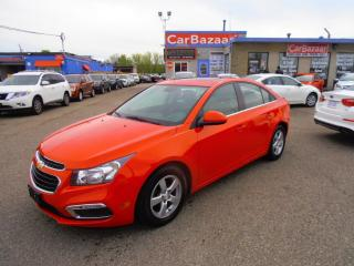Used 2015 Chevrolet Cruze 2LT LTHR ROOF NAV for sale in Brampton, ON