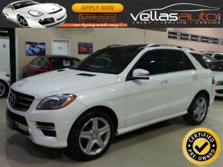 Used 2014 Mercedes-Benz ML-Class ML350 4MATIC| AMG SPORT| NAVI| PANO RF for sale in Woodbridge, ON