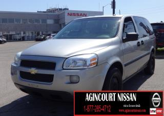 Used 2005 Chevrolet Uplander Base 7 PASSENGER||AS-IS SUPERSAVER| for sale in Scarborough, ON