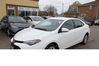 Used 2017 Toyota Corolla LE Bluetooth Heated Seats for sale in Brampton, ON