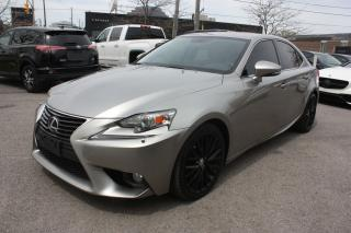 Used 2014 Lexus IS 250 ACCIDENT FREE ONE OWNER for sale in Toronto, ON
