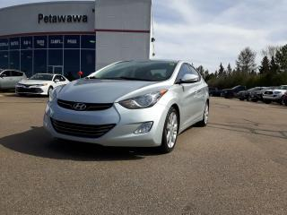 Used 2013 Hyundai Elantra LIMITED WITH NAVIGATION for sale in Ottawa, ON