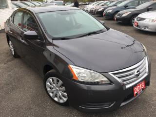 Used 2013 Nissan Sentra SV/LOADED/AUX INPUT/4-CYLINDER/VERY CLEAN!! for sale in Scarborough, ON