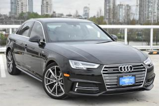 Used 2017 Audi A4 2.0T Technik quattro 7sp S tronic for sale in Burnaby, BC