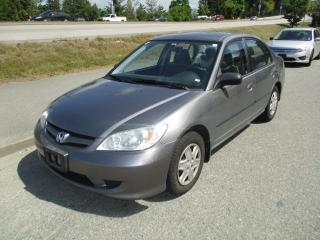 Used 2004 Honda Civic DX-G for sale in Surrey, BC