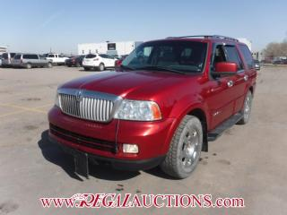 Used 2006 Lincoln NAVIGATOR BASE 4D UTILITY 7PASS 4WD 5.4L for sale in Calgary, AB