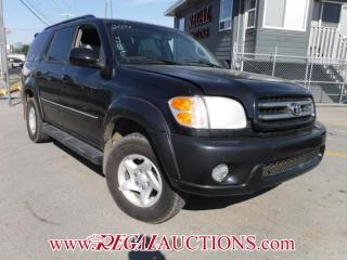 Used 2004 Toyota Sequoia Limited 4D Utility V8 AT for sale in Calgary, AB