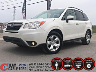Used 2015 Subaru Forester Subaru Forester 2015 AWD, toit ouvrant for sale in Gatineau, QC
