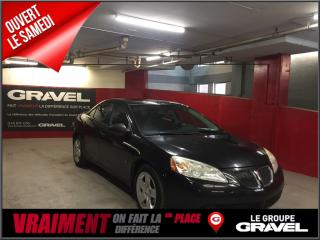 Used 2009 Pontiac G6 Se - Toit - Aileron for sale in Montreal, QC