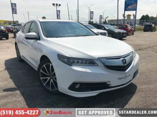 Used 2015 Acura TLX Elite | NAV | LEATHER | ROOF | AWD for sale in London, ON