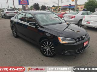 Used 2014 Volkswagen Jetta 1.8 TSI Highline | LEATHER | ROOF for sale in London, ON