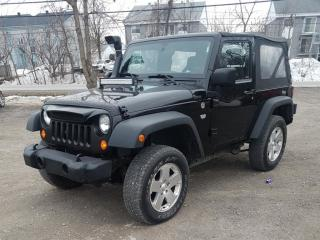 Used 2012 Jeep Wrangler Sport | 4X4 | CONVETIBLE for sale in London, ON