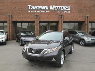 Used 2010 Lexus RX 350 NO ACCIDENT   AWD   LEATHER   SUNROOF   CAMERA for sale in Mississauga, ON
