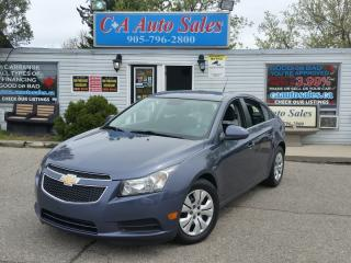 Used 2014 Chevrolet Cruze 1LT NON ACCIDENT I HAVE NEVER SEEN ONE THIS CLEAN BEFORE! for sale in Brampton, ON