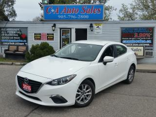 Used 2015 Mazda MAZDA3 ACCIDENT FREE, ONE OWNER for sale in Brampton, ON