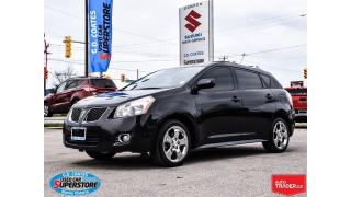 Used 2009 Pontiac Vibe AWD ~Power Moonroof ~Chrome Wheels ~Low KM for sale in Barrie, ON