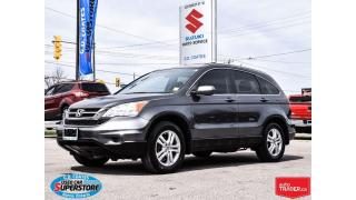 Used 2011 Honda CR-V EX-L AWD ~Heated Leather ~Power Moonroof for sale in Barrie, ON