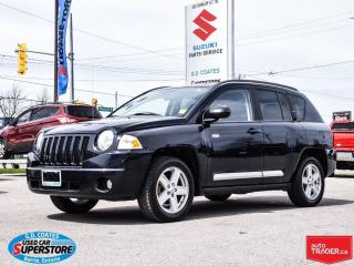 Used 2010 Jeep Compass North Edition 4x4 ~Heated Seats ~Alloy Wheels for sale in Barrie, ON