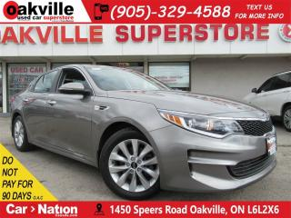 Used 2017 Kia Optima LX+ |BACK CAM | BLUETOOTH | HTD SEATS for sale in Oakville, ON
