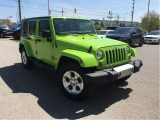 Used 2013 Jeep Wrangler Unlimited SAHARA**BLUETOOTH** for sale in Mississauga, ON
