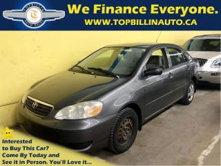 Used 2006 Toyota Corolla CE Automatic, PW, AC, 2 YEARS WARRANTY for sale in Concord, ON
