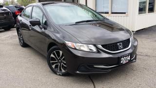 Used 2014 Honda Civic EX Sedan CVT for sale in Kitchener, ON