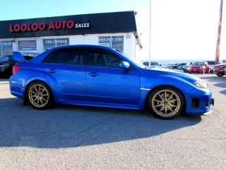 Used 2011 Subaru Impreza WRX STi STI SEDAN 6 SPD MANUAL CERTIFIED 2YR WARRANTY for sale in Milton, ON