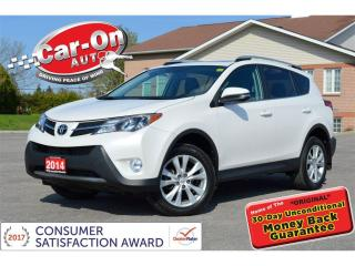 Used 2014 Toyota RAV4 Limited AWD LEATHER NAV SUNROOF REAR CAM LOADED for sale in Ottawa, ON
