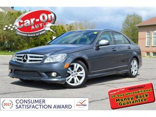 Used 2009 Mercedes-Benz C-Class C350 4Matic LEATHER NAV PANO ROOF for sale in Ottawa, ON