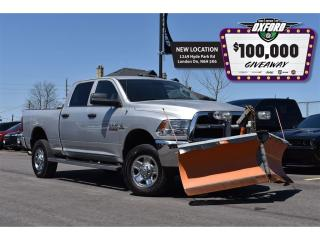 Used 2014 RAM 2500 SXT - Plow Truck, 6.7L Diesel, Bluetooth for sale in London, ON