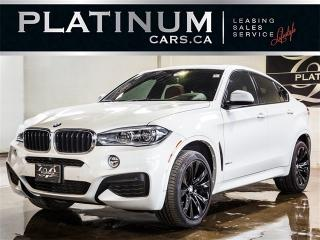 Used 2016 BMW X6 xDrive35i, M-SPORT, NAVI, HEADS UP DISP, 360 CAM for sale in North York, ON
