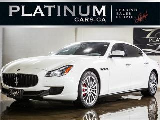 Used 2015 Maserati Quattroporte S Q4, AWD, NAVI, CAM, SUNROOF, HEATED LTHR for sale in North York, ON