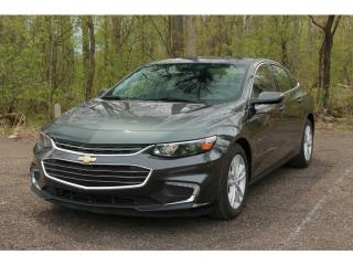 Used 2016 Chevrolet Malibu 1LT Leather | Bluetooth| Back-Up Camera for sale in Waterloo, ON
