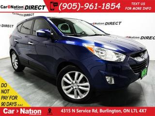 Used 2010 Hyundai Tucson Limited| NAVI| LEATHER| DUAL SUNROOF| AWD| for sale in Burlington, ON