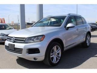 Used 2013 Volkswagen Touareg 3.0 TDI Execline (A8) w/ Back Up Cam! for sale in Whitby, ON