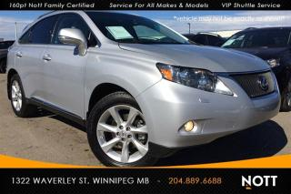 Used 2012 Lexus RX 350 AWD Moon Roof Heated/Cooled Le for sale in Winnipeg, MB