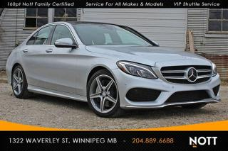 Used 2015 Mercedes-Benz C-Class C400 4MATIC Navigation Panoram for sale in Winnipeg, MB