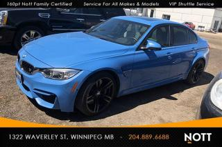 Used 2015 BMW M3 One Local Owner HUD Navi 360 C for sale in Winnipeg, MB