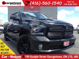 Used 2017 RAM 1500 Sport | CREW | NAV | LEATHER | 4X4 | ROOF | for sale in Georgetown, ON
