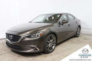 Used 2016 Mazda MAZDA6 Gt Cuir Gps Toit for sale in Laval, QC
